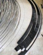 风力发电机机舱罩密封条刷